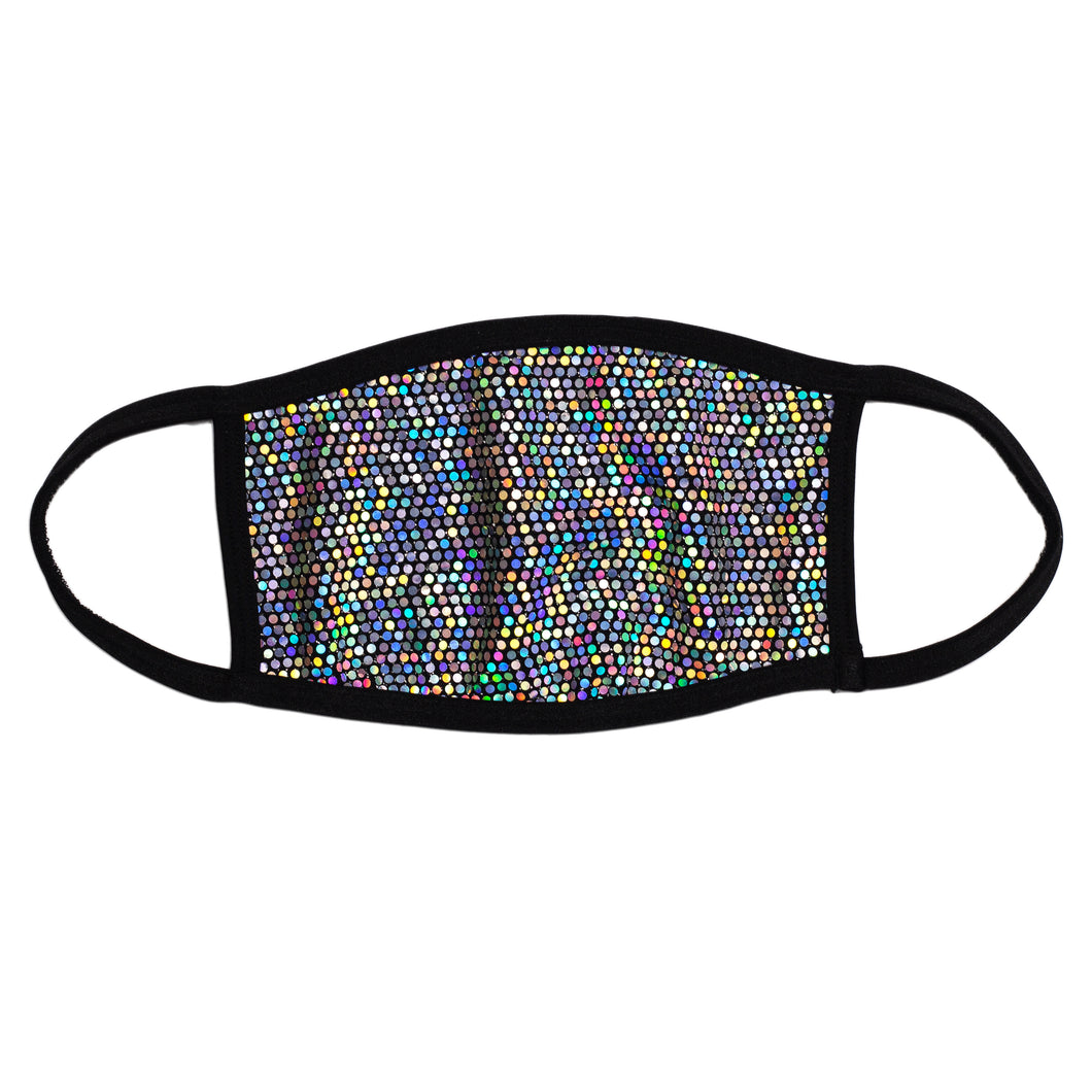 Technicolor Dots Dust Mask