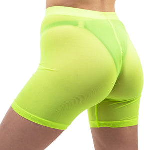 Citron Biker Shorts