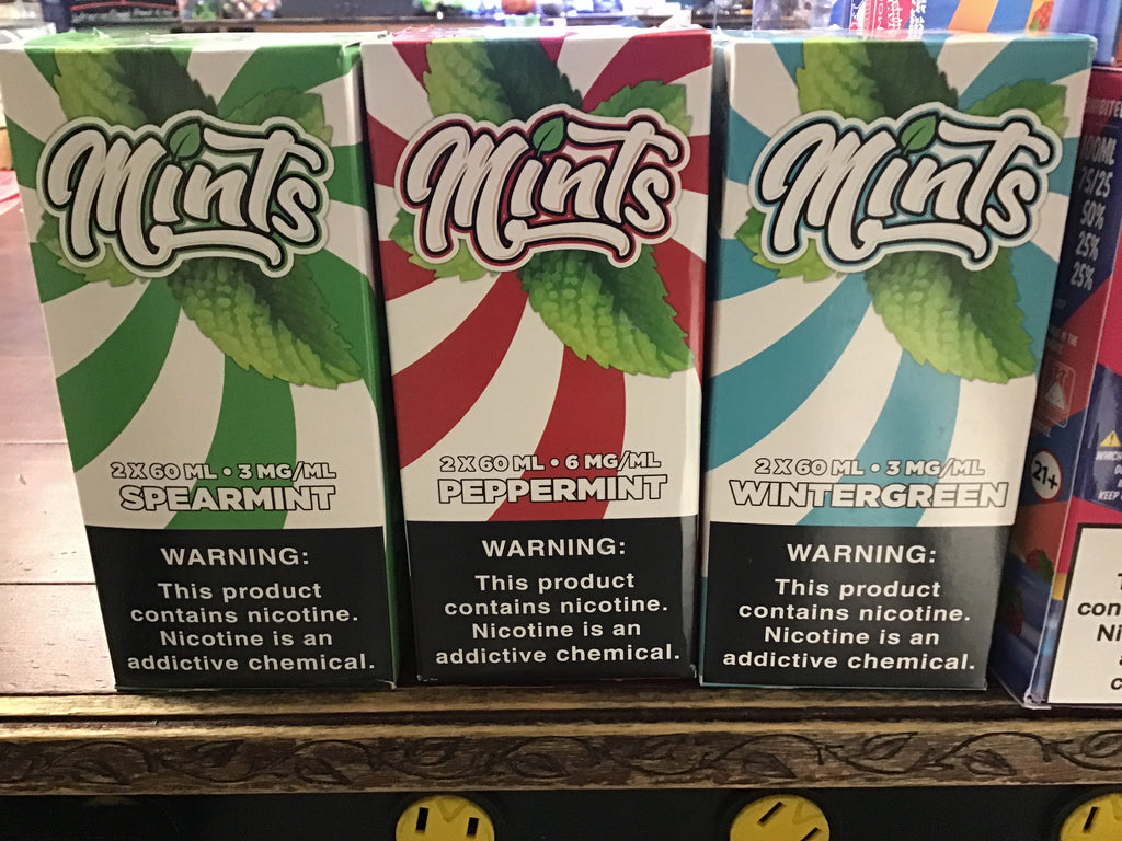 Mints Premium E-Liquid 120ml (60mlx2)