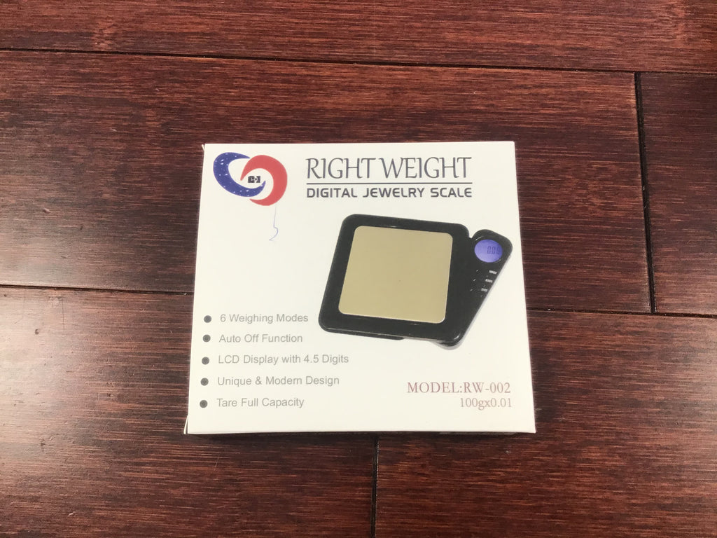 Right Weight Digital 100g X .01g Jewelry Scale