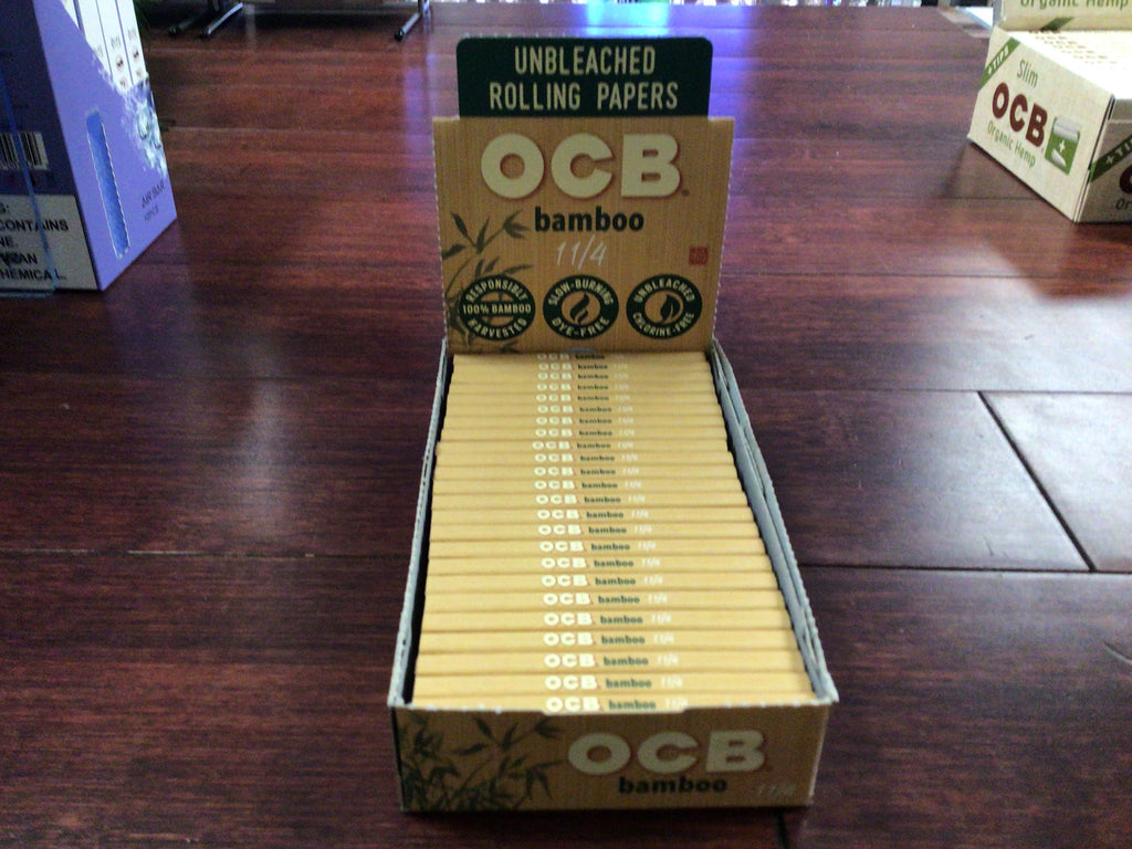 OCB Rolling Papers Bamboo 1 1/4
