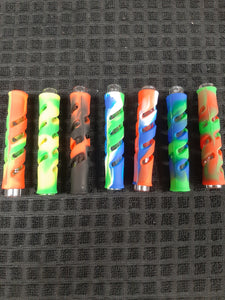 Glass Chillum W/ Silicone Sleeve