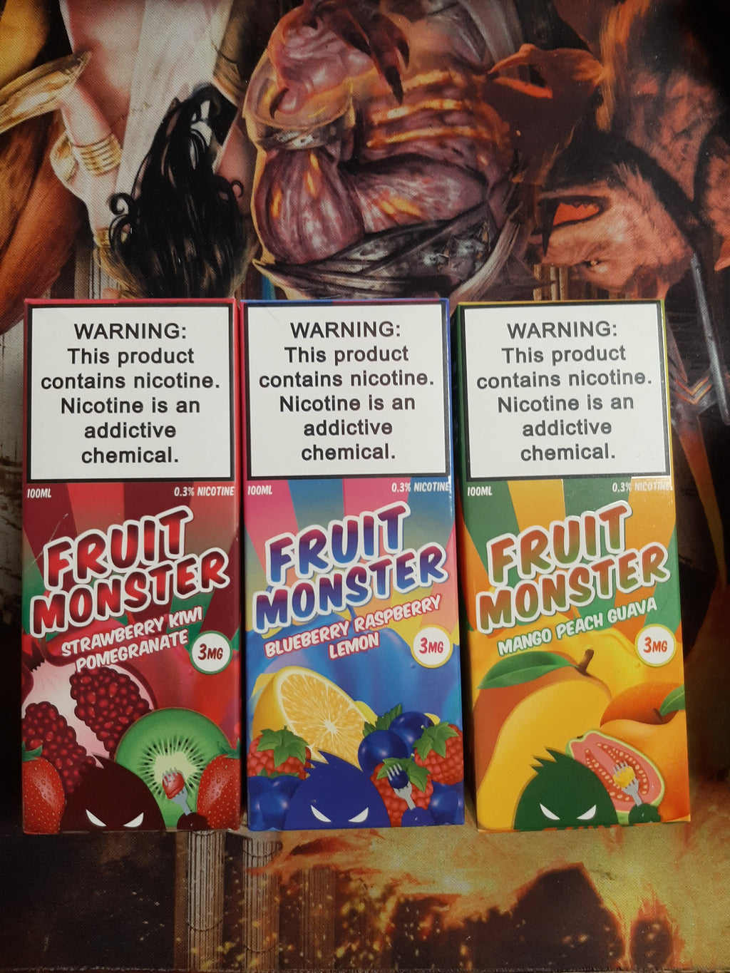 Fruit Monster Premium E-Liquid