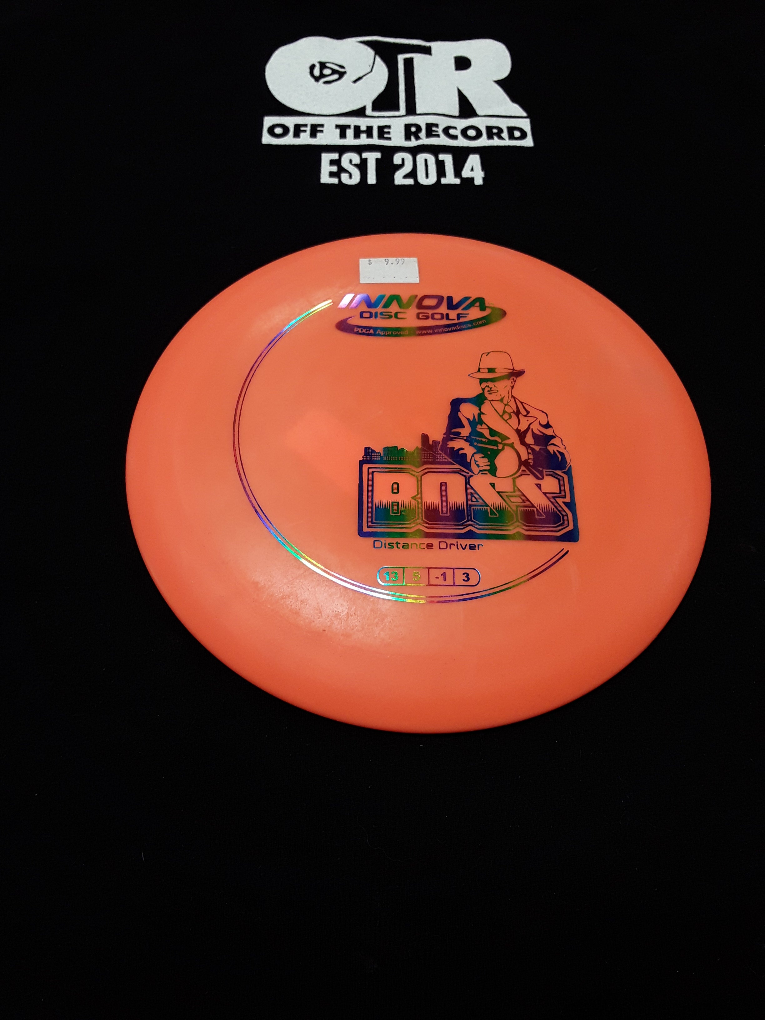 Innova Boss Distance Driver Orange