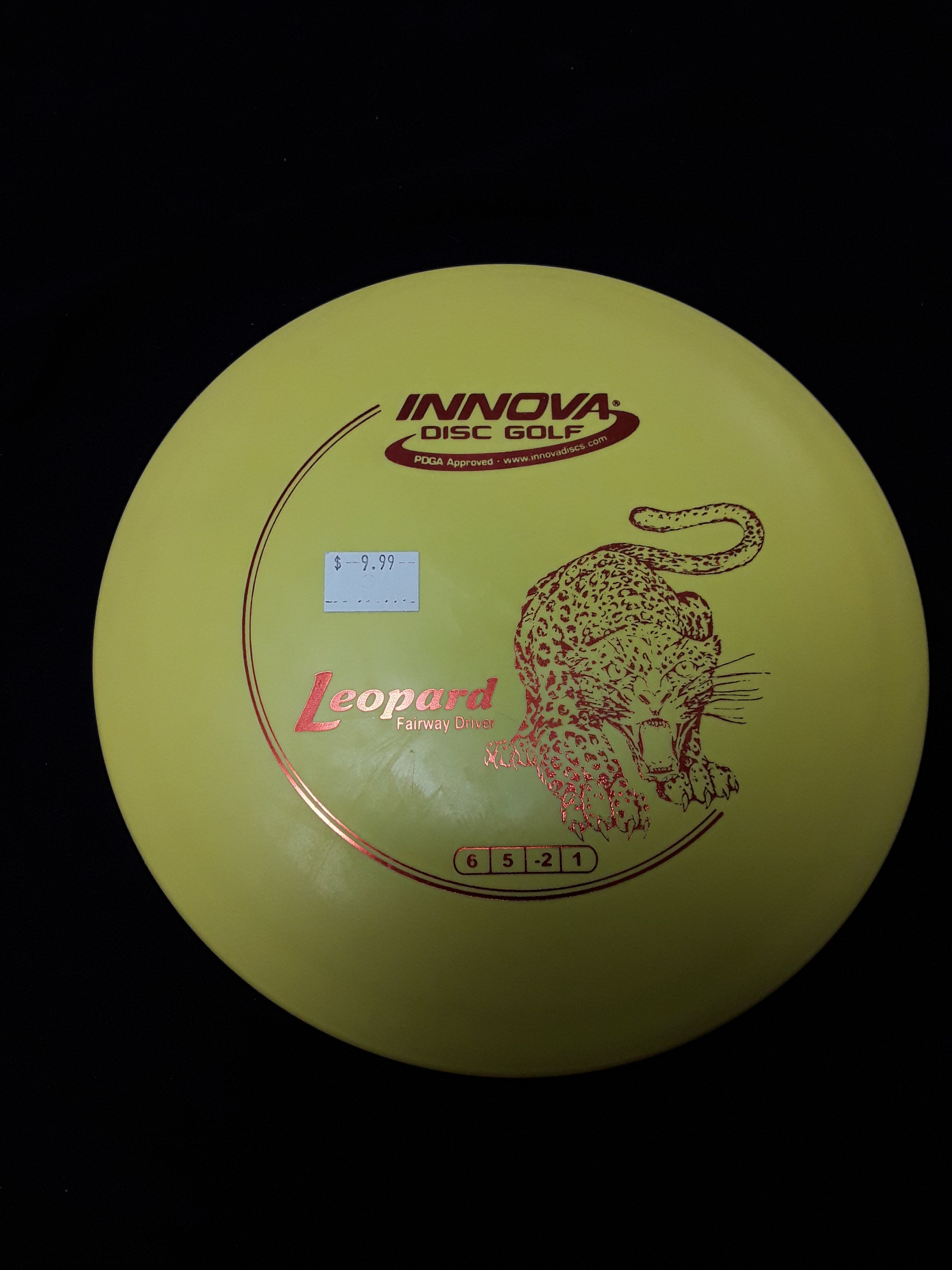 Innova Leopard Fairway Driver Yellow
