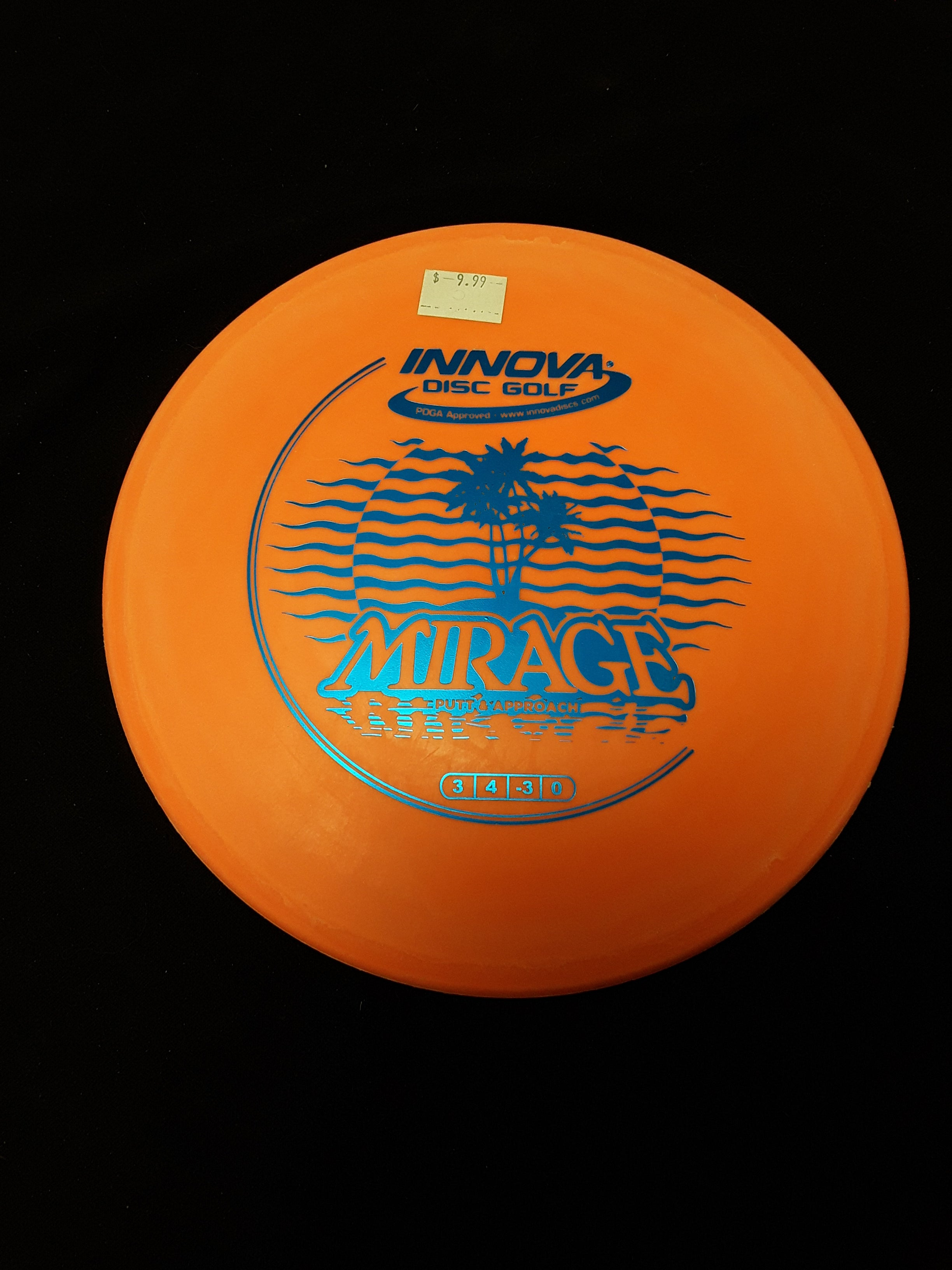 Innova Mirage Putt and Approach Orange