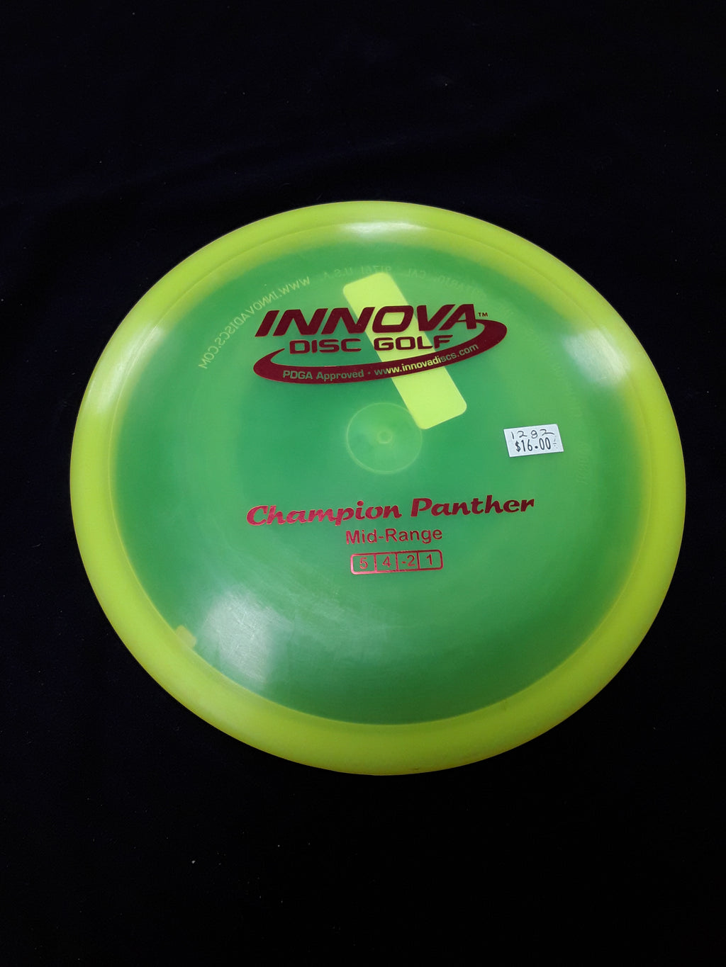 Innova Champion Panther Midrange Lime Green