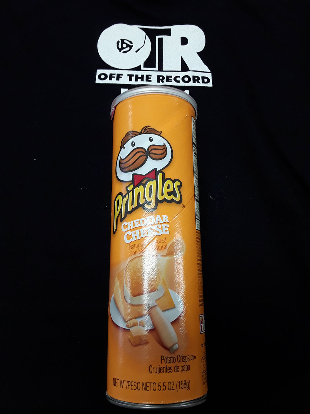 Stash Can Pringles Cheddar Cheese 5.5oz