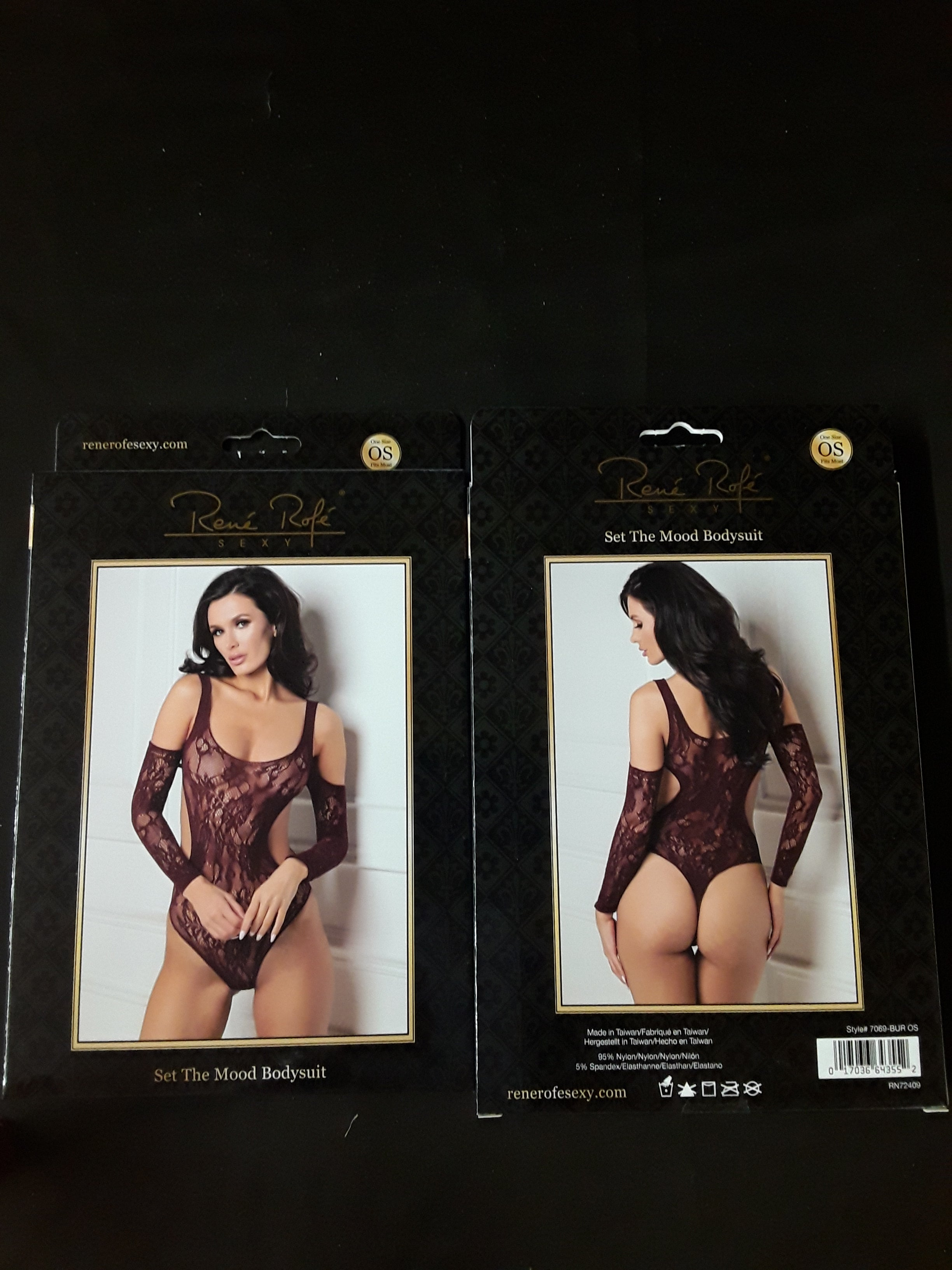 Rene Rof Sexy Set The Mood Bodysuit