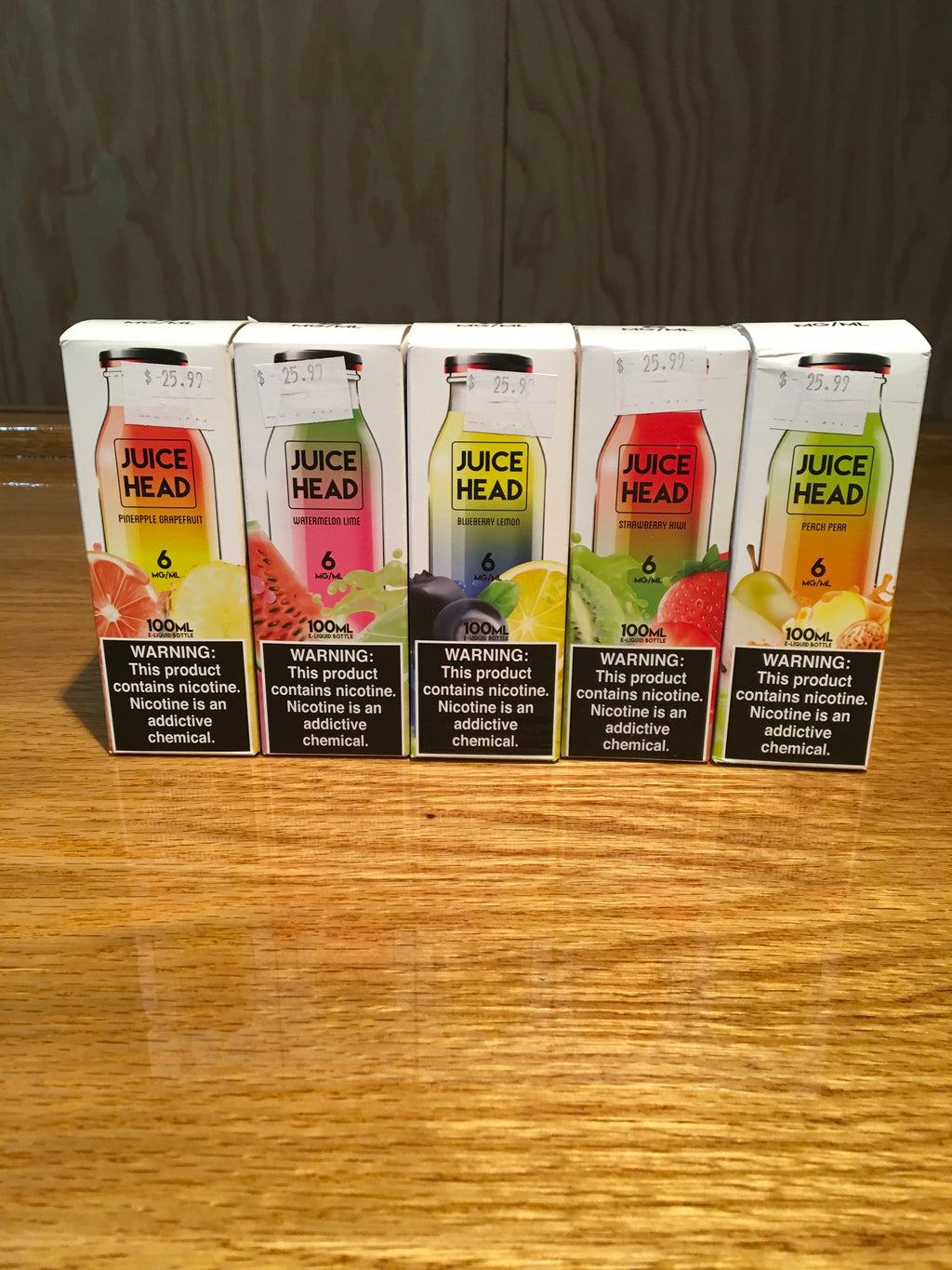 Juice Head Premium E-Liquid