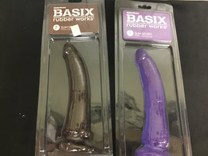 "Basix 7"" Suction Cup Dong"