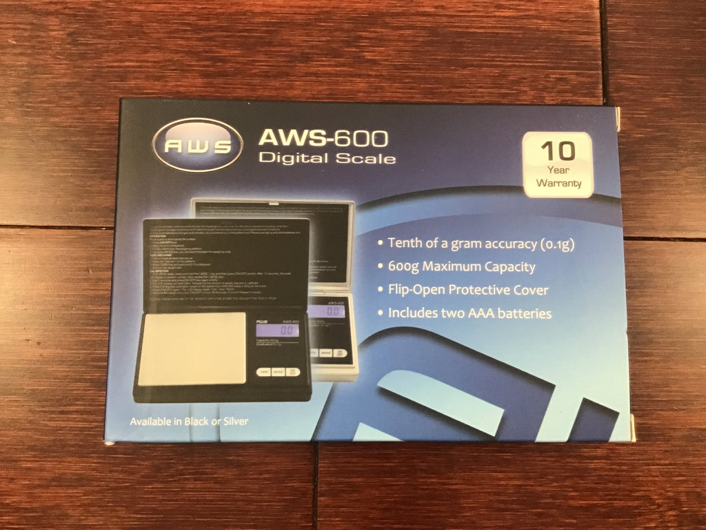 AWS Digital 600g X .01g Jewelry Scale