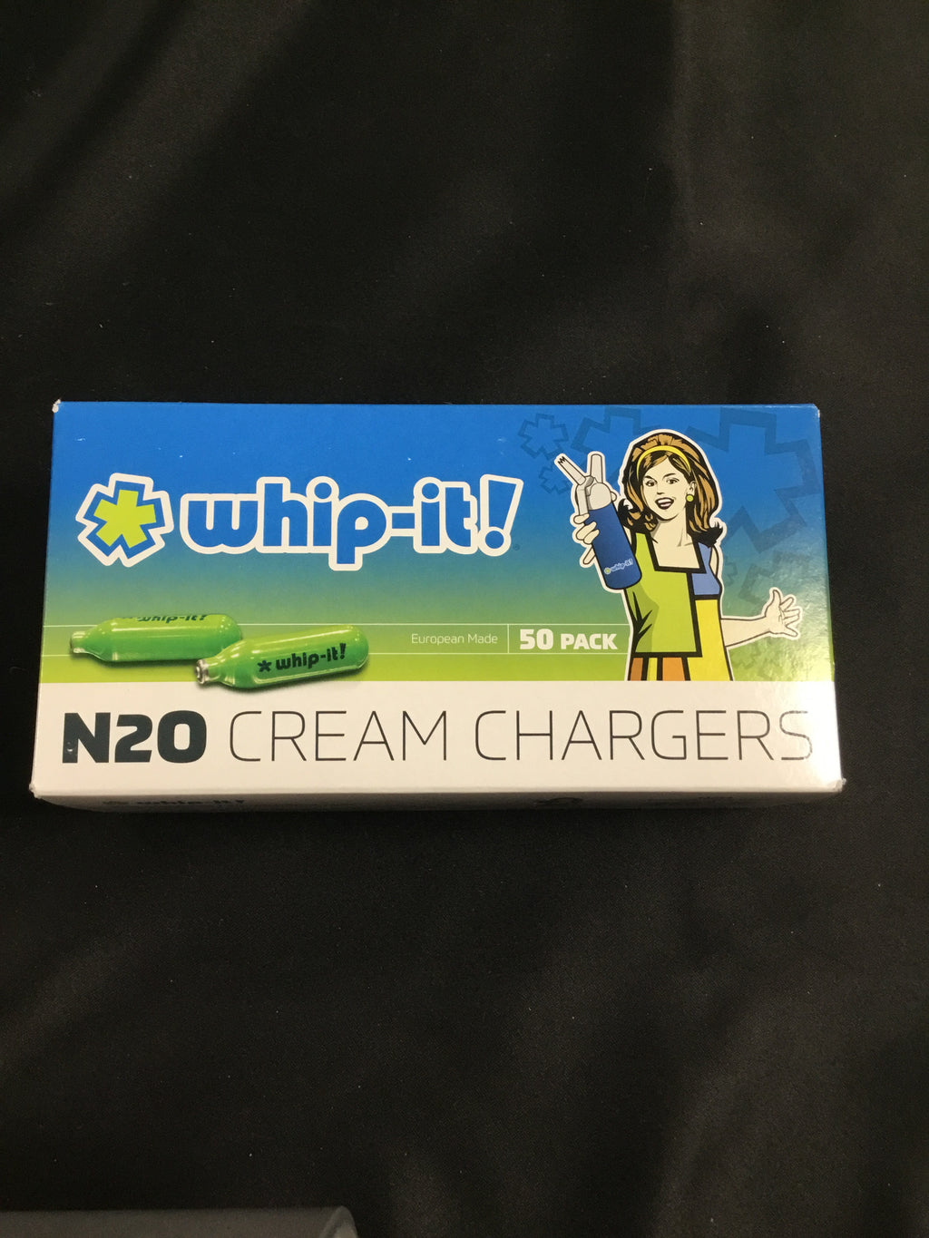 Whip-It N20 Cream Chargers