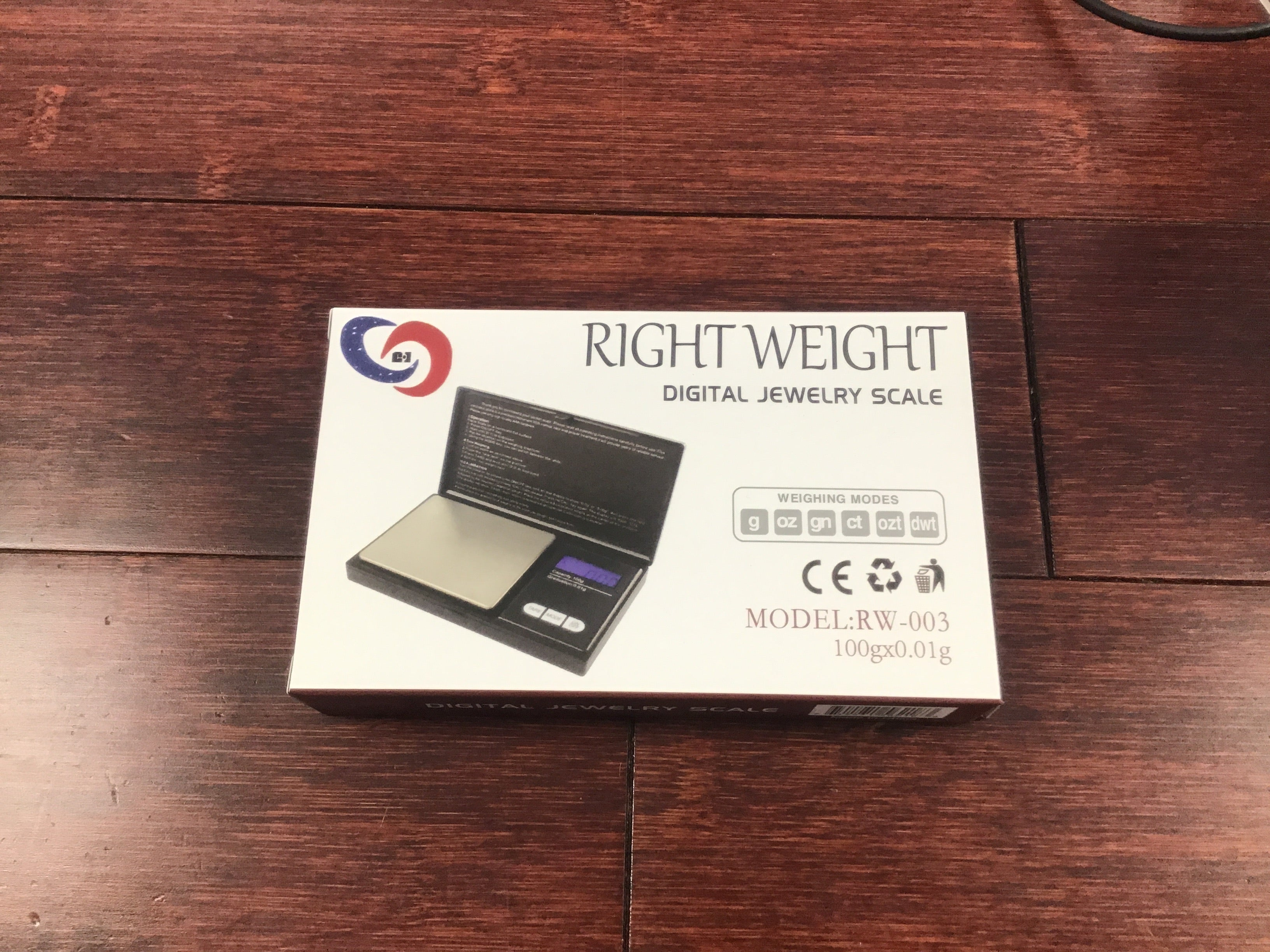 Right Weight 100g X .01g Scale