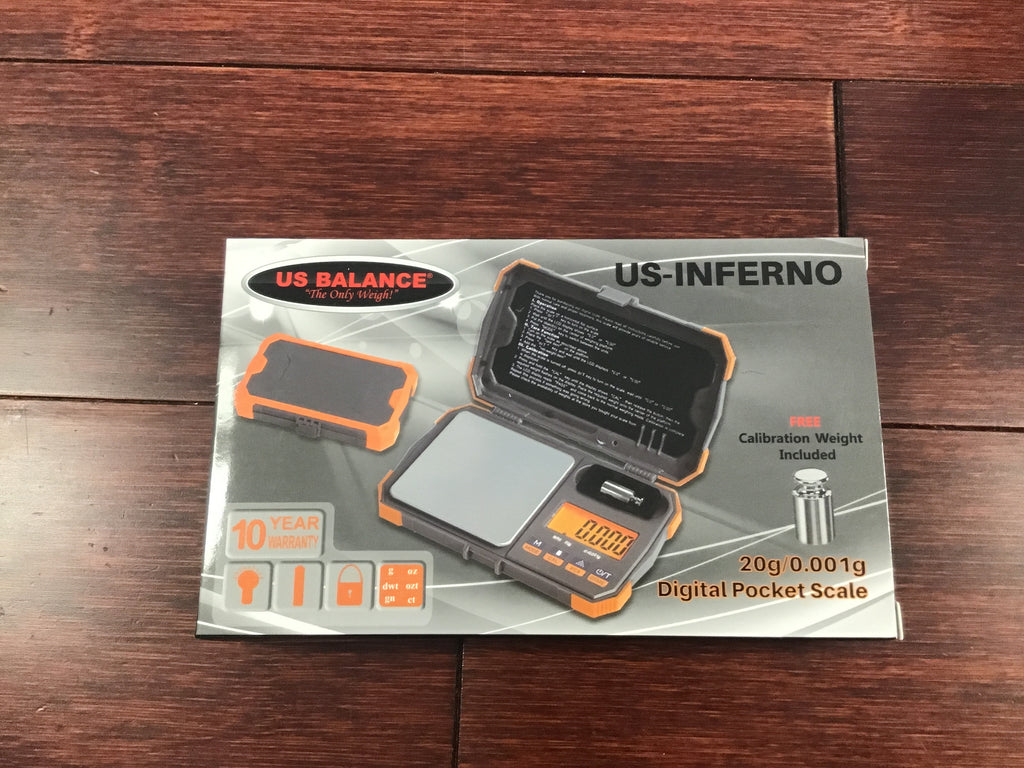 US Balance Inferno 20g X .001g Scale