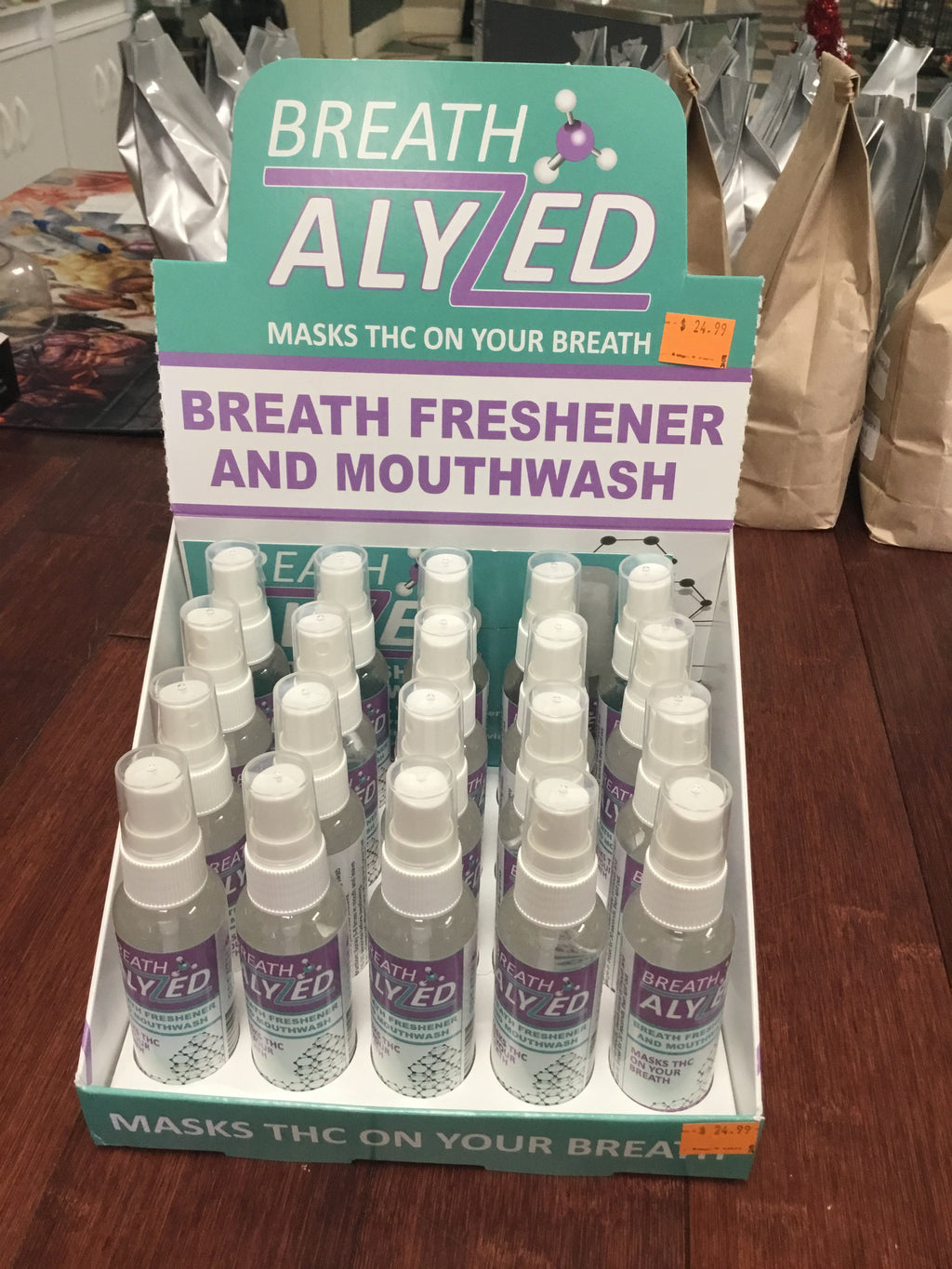 Breathalyzed Mouthwash