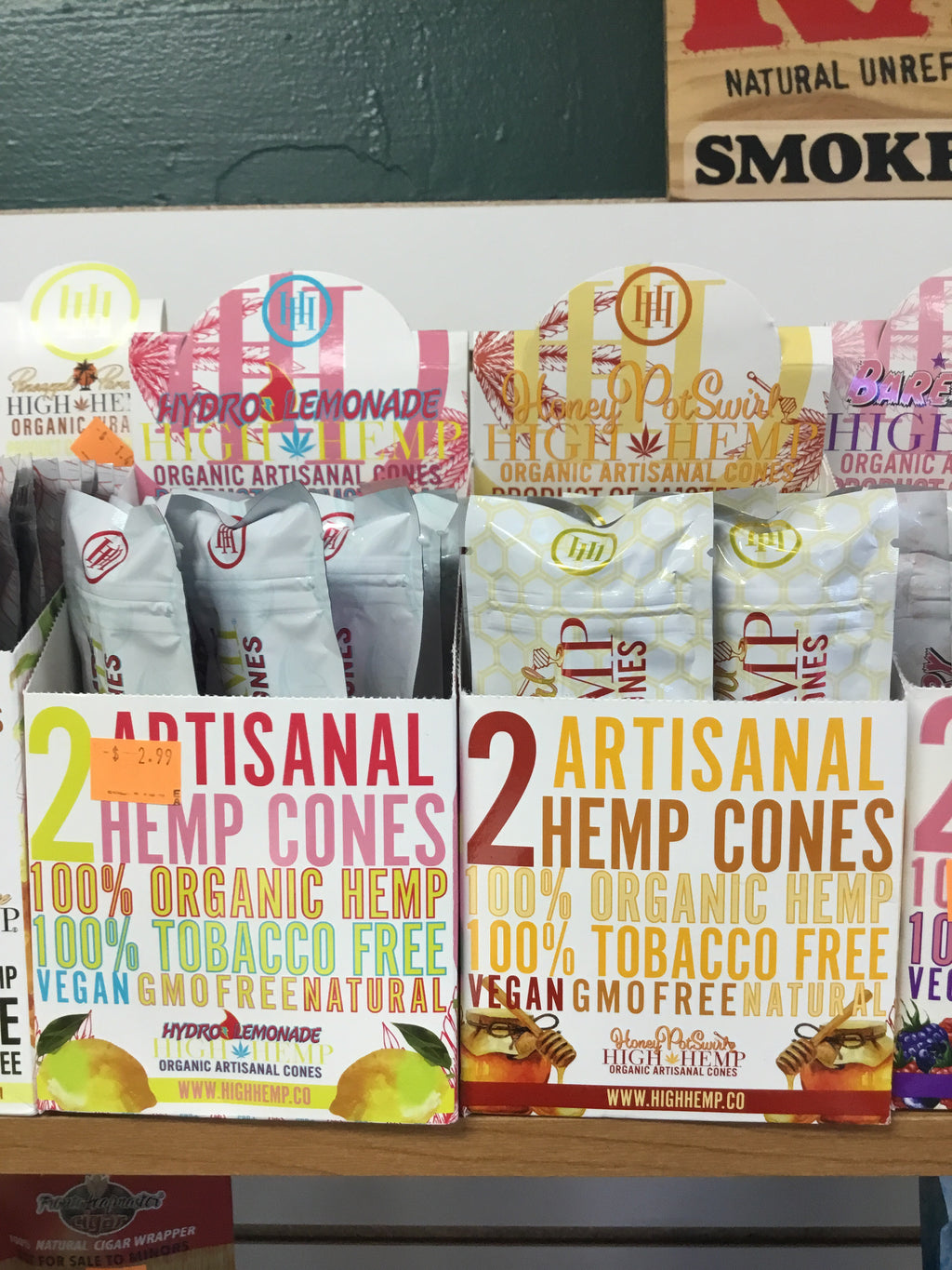 High Hemp Artisanal Cones