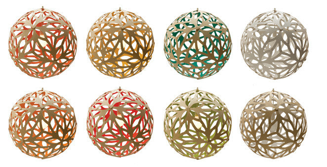 DT Colored Floral Light  sc 1 st  respondé & respondé - Colored Floral Pendant Light by David Trubridge azcodes.com