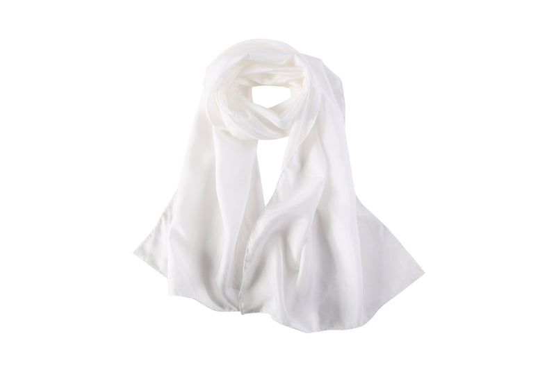 Yangtze Store Blank Undyed 8 MM Habotai Silk Scarf for Dyeing or Painting Hand Rolled Hem Various Sizes