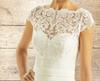 Swirl Lace Bolero - Wedding Dress Cover Up, Bridal Accessories,  Stunning Lace