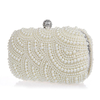 Beautiful Classic Vintage Pearl Clutch Bag - Ivory, White or Champagne