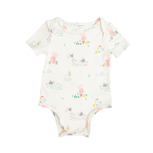 Little Farmer Girl Bodysuit Ivory