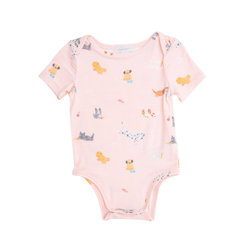 Puppy Play Bodysuit Pink