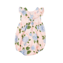 Load image into Gallery viewer, Hydrangea Sunsuit Pink