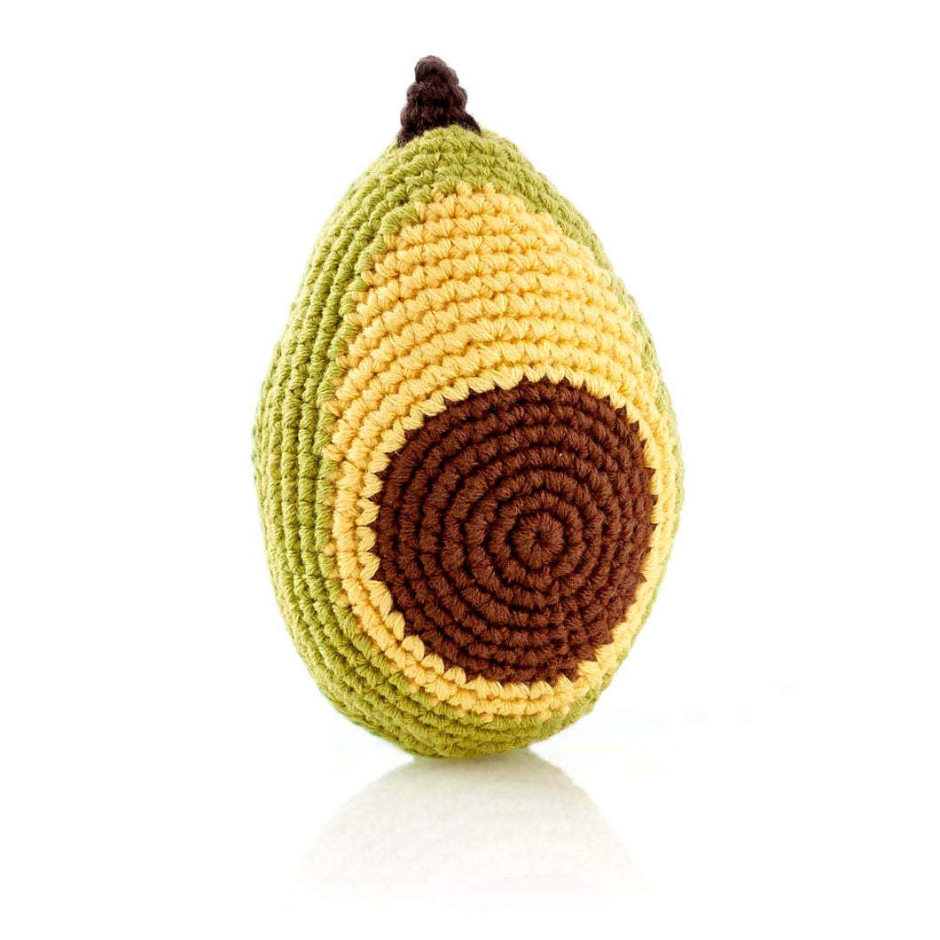 Avocado Rattle