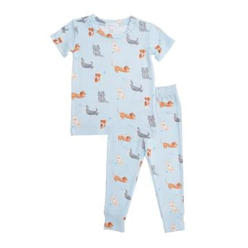 Puppy Play Lounge Wear Set Blue