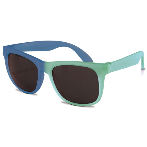 Switch Color Changing Sunglasses for Kids 4+ | Lt Green Royal Blue
