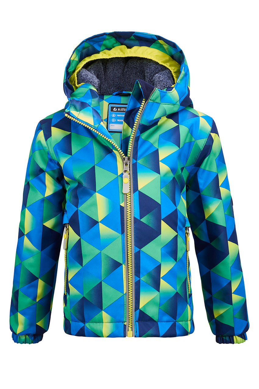Killtec Viewy Mtns Ski Jacket || Grass Green