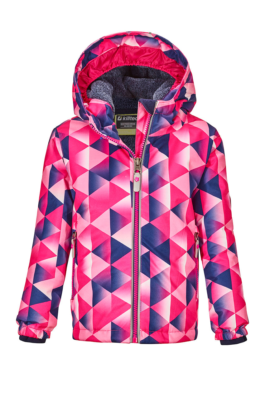 Killtec Viewy Mtns Ski Jacket || Pink & Blue