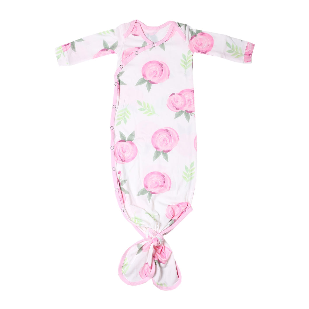 Grace Newborn Knotted Gown