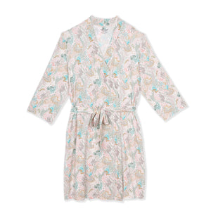 coral cay modal women's robe S/M
