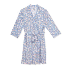 Load image into Gallery viewer, somebunny floral modal women's robe S/M