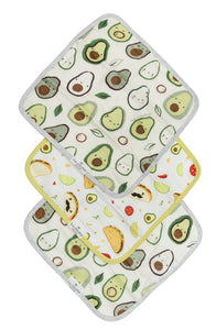 Avocado Washcloth 3 piece set