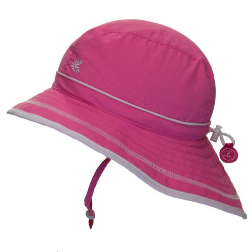 Hot Pink UV Beach Hat