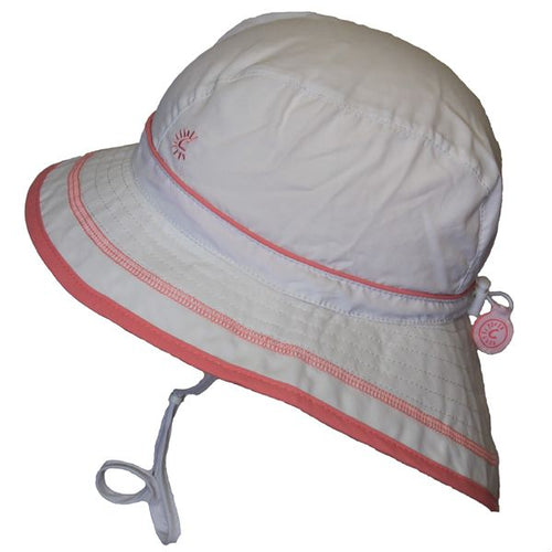 White UV Beach Hat