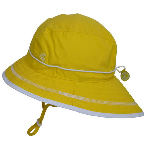 Yellow UV Beach Hat