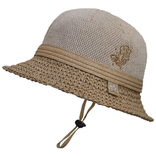 Girls Straw Beach Hat
