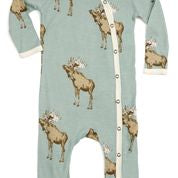 Blue Moose Bamboo Footed Romper