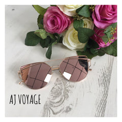 Out There Vintage Mirrored Sunglasses - AJ Voyage - 3