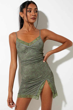 Motel Rocks Coti Bodycon Mini Dress - Green