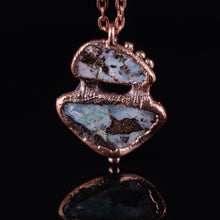 Load image into Gallery viewer, Boulder Opal Copper Necklace