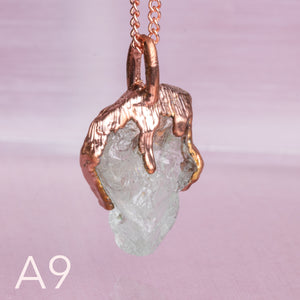 Aquamarine Copper Necklace - Awaken