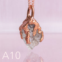 Load image into Gallery viewer, Aquamarine Copper Necklace - Awaken