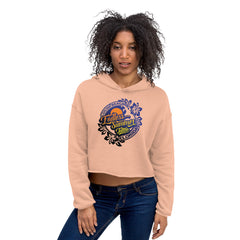 Endless Summer Tattoo Ladies Crop Hoodie