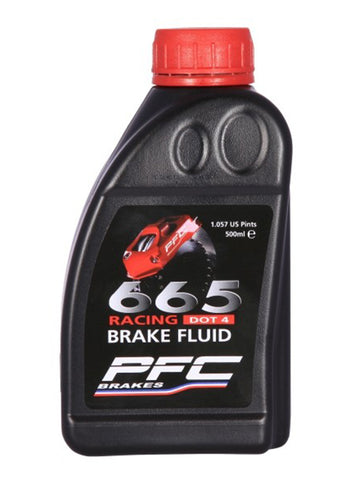 PFC 665 racing brake fluid