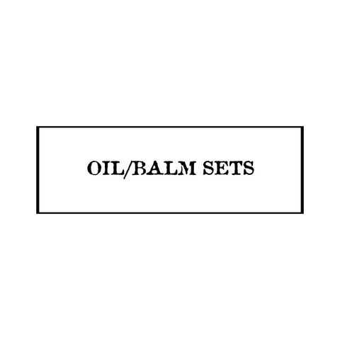 Beard Oil/Balm Sets